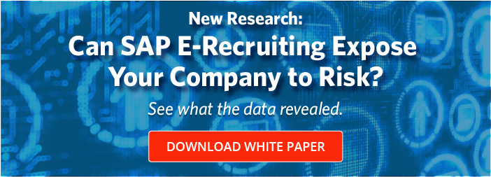 Can SAP E-Recruiting Expose Your Company to Risk?
