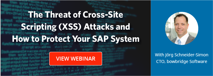 The Threat of Cross-Site Scripting (XSS) Attacks and How to Protect Your SAP System
